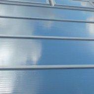 Kunststof ramen en daken zonwerende folie