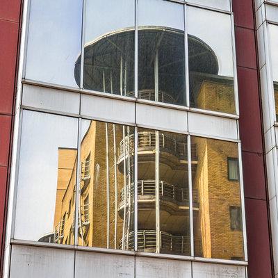 Anti inkijk Spiegel exterieur ( HR+ en HR++ en hoger)