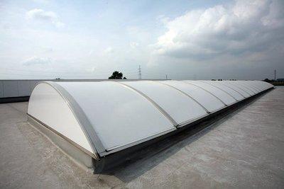 Roofshield White Polycarbonaat | Smalformaat | 60 cm / 92 cm