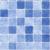 Tegels| klein |blauw