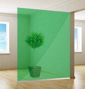 Gekleurde Raamfolie | Excellent | Green