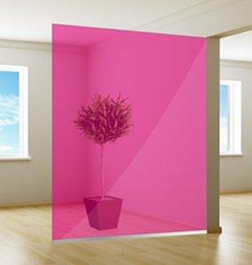 Gekleurde Raamfolie | Excellent | Pink