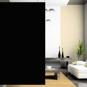 Verduisterings Raamfolie - INT (Zwart/zwart)