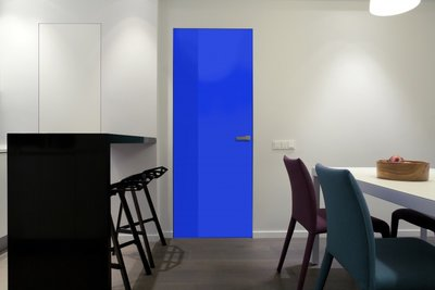 Gekleurde folie | Permanent | Dekkend| Glans | Dk. Blauw