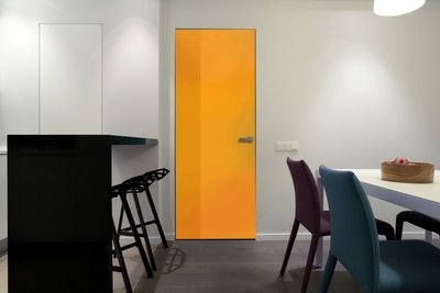 Gekleurde folie | Niet Permanent | Dekkend |Oranje