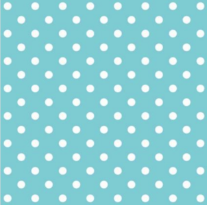 Decor| Polkadots|blauw