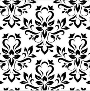 Decor  Motieven  zwart/wit