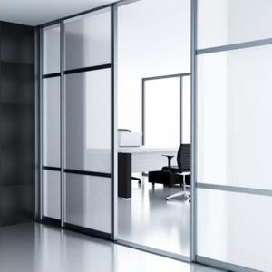 Privacy | Zandstraal effekt | Statisch smalformaat 60 cm / 92 cm