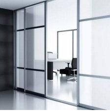 Privacy | Zandstraal effekt | Statisch breedformaat 122 cm / 152 cm