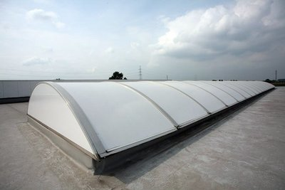 Monster Zonwerend Roofshield White Polycarbonaat  Ext.